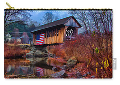 Cilleyville Covered Bridge Carry-all Pouch
