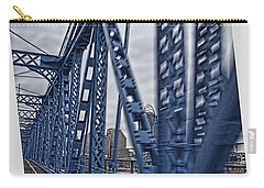 Cincinnati Bridge Carry-all Pouch by Daniel Sheldon