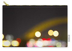 Cincinnati Night Lights Carry-all Pouch by Daniel Sheldon
