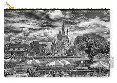 Carry-all Pouch featuring the photograph Cinderella's Palace by Howard Salmon