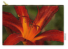 Cinnamon Lily Carry-all Pouch