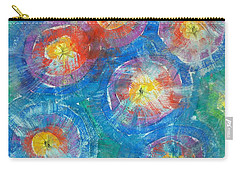 Circle Burst Carry-all Pouch
