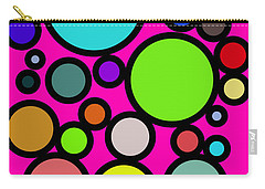 Circles Galore Carry-all Pouch