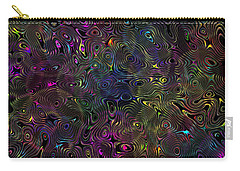 Rainbow Raindrops Carry-all Pouch by Mark Blauhoefer