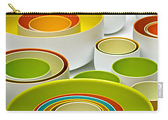 Carry-all Pouch featuring the photograph Circles Squared by Ira Shander