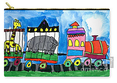 Circus Train Carry-all Pouch