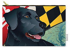 Maryland Black Lab Carry-all Pouch
