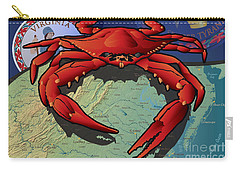 Citizen Crab Of Virginia Carry-all Pouch