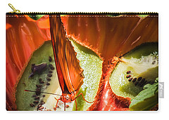 Citrus Butterfly Carry-all Pouch by Karen Wiles