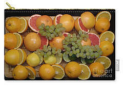 Carry-all Pouch featuring the photograph Citrus by Michael Canning