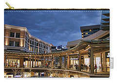 Carry-all Pouch featuring the photograph City Creek by Ely Arsha