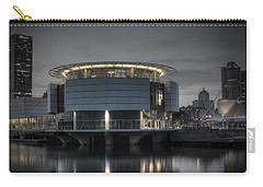 Carry-all Pouch featuring the photograph City Glare by Deborah Klubertanz