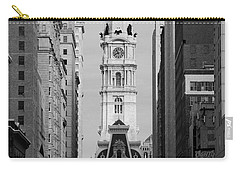 City Hall B/w Carry-all Pouch