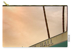 City Hall Sky Palm Springs City Hall Carry-all Pouch