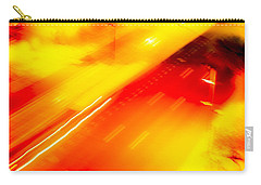 Carry-all Pouch featuring the photograph City Lights 1 by Mez