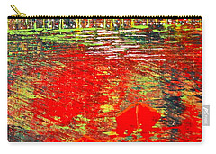 City Lights - Sold Carry-all Pouch by George Riney