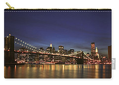 City Of Lights Carry-all Pouch