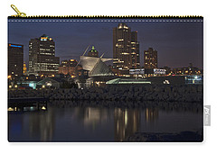 Carry-all Pouch featuring the photograph City Reflection by Deborah Klubertanz