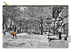 City Snowstorm Carry-all Pouch