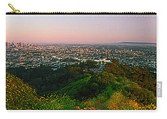 Cityscape, Santa Monica, City Of Los Carry-all Pouch
