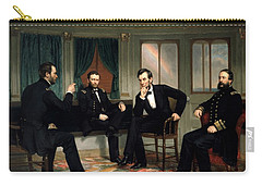 Civil War Union Leaders -- The Peacemakers Carry-all Pouch