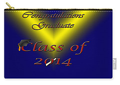 Class Of 2014 Card Carry-all Pouch