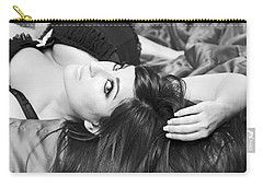 Carry-all Pouch featuring the pyrography Classic Boudoir by Shoal Hollingsworth