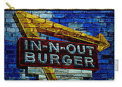 Classic Cali Burger 2.4 Carry-all Pouch by Stephen Stookey