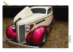 Carry-all Pouch featuring the photograph Classic Car - 1937 Buick Century by Peggy Collins
