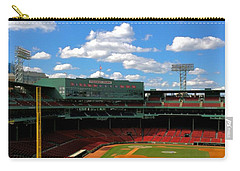 Carry-all Pouch featuring the photograph Classic Fenway I  Fenway Park by Iconic Images Art Gallery David Pucciarelli