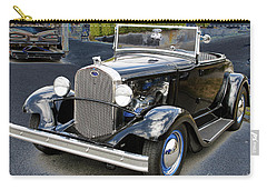Carry-all Pouch featuring the photograph Classic Ford by Victoria Harrington