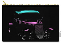 Classic Cars Carry-all Pouch featuring the photograph Classic Minimalist by Aaron Berg