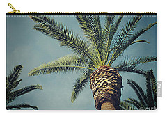 Carry-all Pouch featuring the photograph Classic Palms2 by Meghan at FireBonnet Art