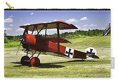 Classic Red Barron Fokker Dr.1 Triplane Photo Carry-all Pouch by Keith Webber Jr