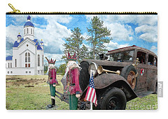 Carry-all Pouch featuring the photograph Classic Ride by Liane Wright