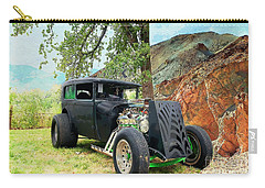 Carry-all Pouch featuring the photograph Classic Rod by Liane Wright