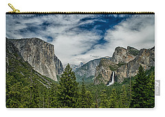 Classic Tunnel View Carry-all Pouch by Cat Connor