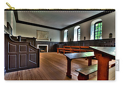 Carry-all Pouch featuring the photograph Classroom Wren Building by Jerry Gammon