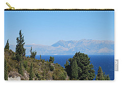 Carry-all Pouch featuring the photograph Clear Day by George Katechis
