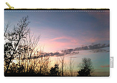 Clear Evening Sky Carry-all Pouch