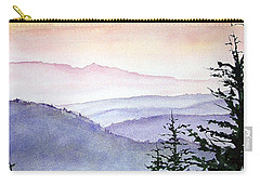 Clear Mountain Morning II Carry-all Pouch