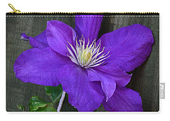 Clematis On A String Carry-all Pouch