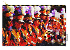 Clemson Tiger Band - Afremov-style Carry-all Pouch