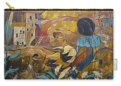 Cliff Dwellers Carry-all Pouch by Avonelle Kelsey