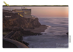 Carry-all Pouch featuring the photograph Cliff House Sunset by Kate Brown