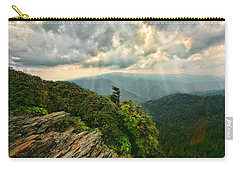 Cliff Tops At Mt. Leconte Gsmnp Carry-all Pouch