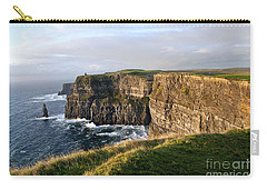 Cliffs Of Moher Evening Light Carry-all Pouch