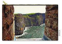 Cliffs Of Moher From O'brien's Tower Carry-all Pouch