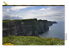 Cliffs Of Moher Looking South Carry-all Pouch
