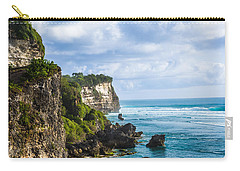 Cliffs On The Indonesian Coastline Carry-all Pouch
